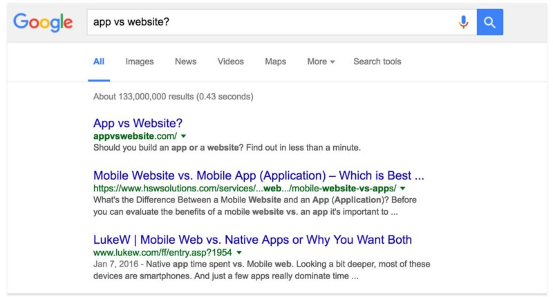 app-vs-website-search-results