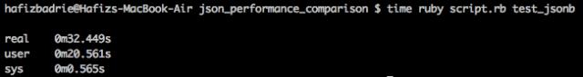 Insert Tipe Data JSONB dengan Index