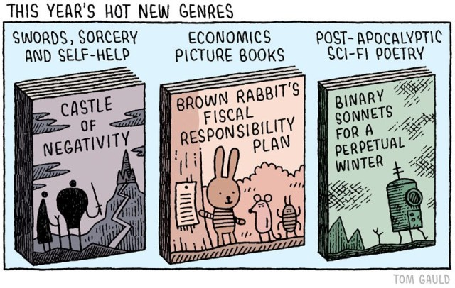 Tom Gauld literary comic