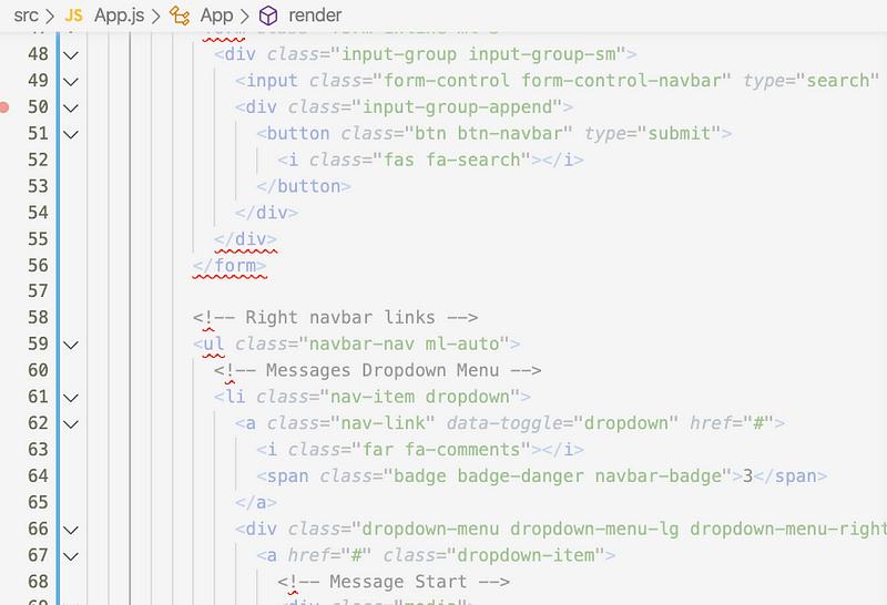 React complies with JSX, not HTML