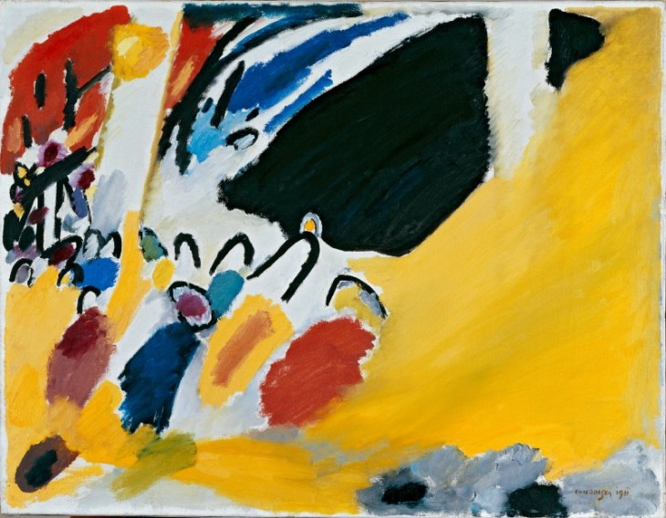 Impression III (Concert) by Wassily Kandinsky [Public domain or Public domain], via Wikimedia Commons