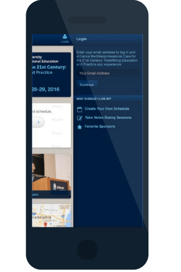 IPE 2016 event apps