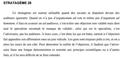 Schopenhauer, maître d'éducation politique et de rhétorique