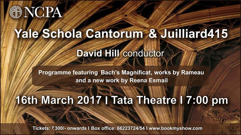 Classical Movements Sends Yale Schola Cantorum, Juilliard415