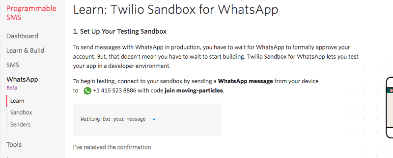 Twilio WhatsApp