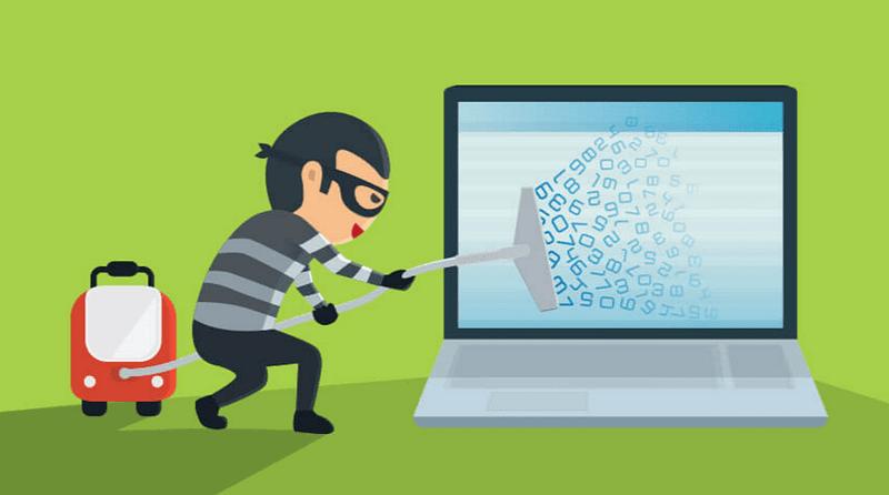 data thief private search engine