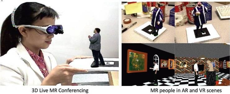 Будущее общения: смешанная, а не виртуальная реальность