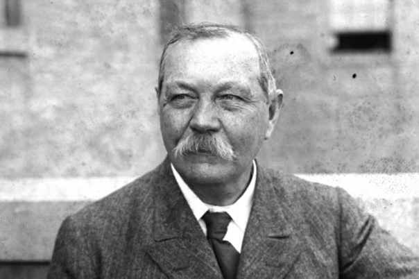 Arthur Conan Doyle encouraged talk of a curse