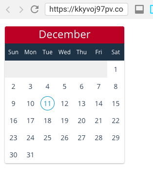 Build a React Calendar Component from scratch - Programming