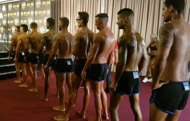 men's amateur fitness competition