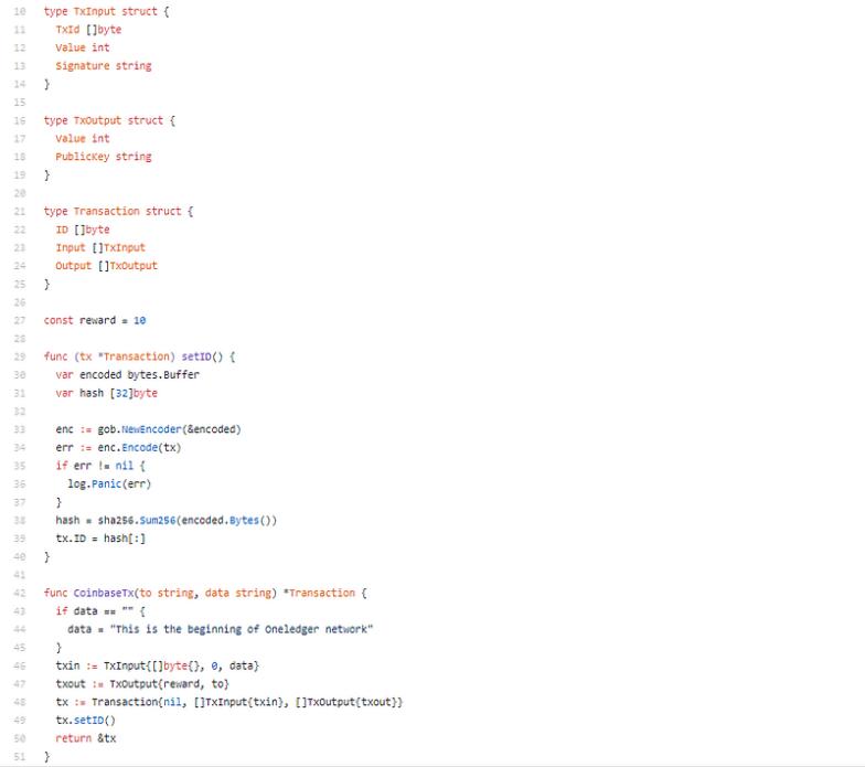 1 VoOQMEyNEqF2JNtUDQPDjQ OneLedger Code Review Business Modularization