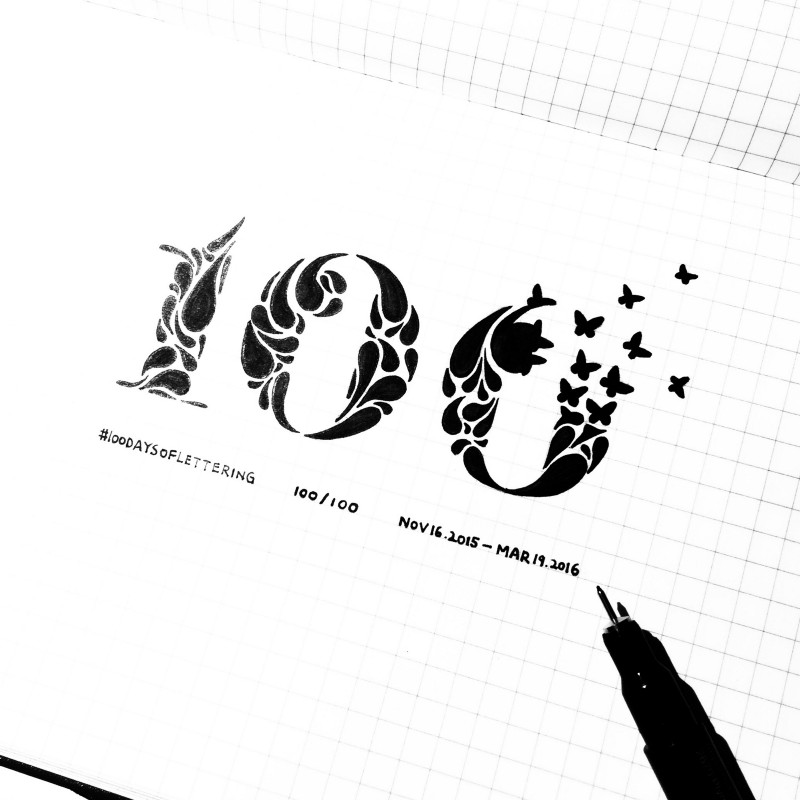 100 Days of Vector Illustration – The 100 Day Project