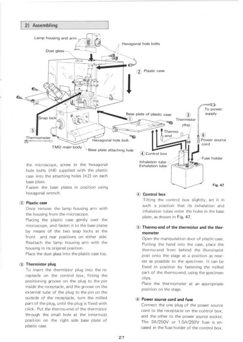 small resolution of the original optional incubator mentioned in the original manual as available accessory