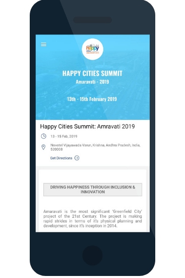 happy cities summit app