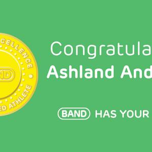 Congratulations Ashland Anderson, #BANDhasYourBack!