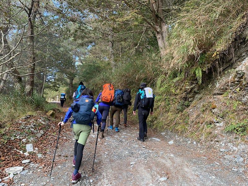嘉明湖登山步道