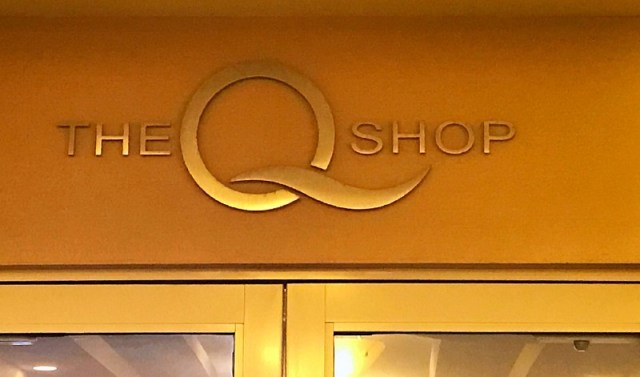 The Sign for the Shop at the Hilton Fort Lauderdale Beach , The Q Shop