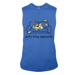 Sofa King Awesome T Shirt Semi Circle White Leather Dogs Cuteshirt123 Yahoo Com Medium Or Scan Qr Code To Buy Tashirts Shop