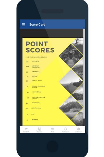 MIA event app