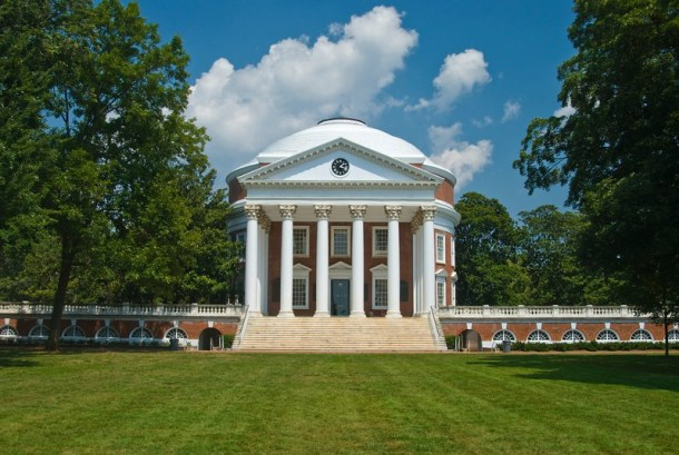 The Rotunda at The University of Virginia - A good in-state option for a free college tuition