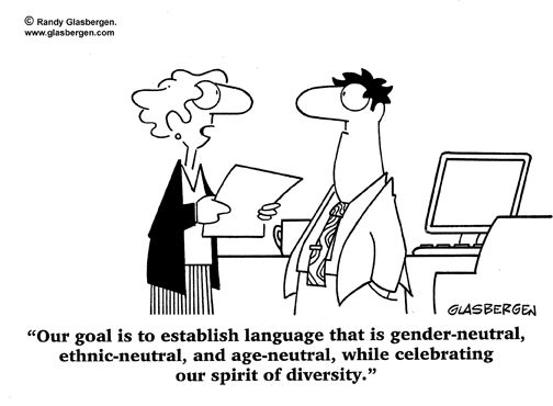 The political correctness of diversity will doom us all.