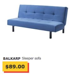 Solsta Sofa Bed Ransta Dark Gray Review Ikea Malaysia 2017 Balkarp – Thesofa