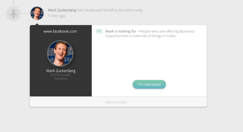 event networking platform