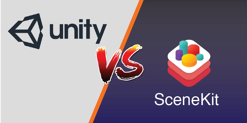 unity vs scenekit which