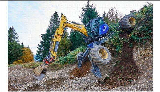 spider excavator dr digger