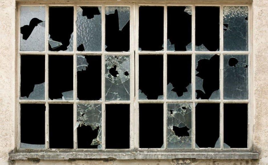 Billedresultat for broken window code complete