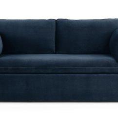 Mid Century Style Sofa Canada Italian Pics Oneira Tidal Blue Bed - Sofas Article | Modern, ...