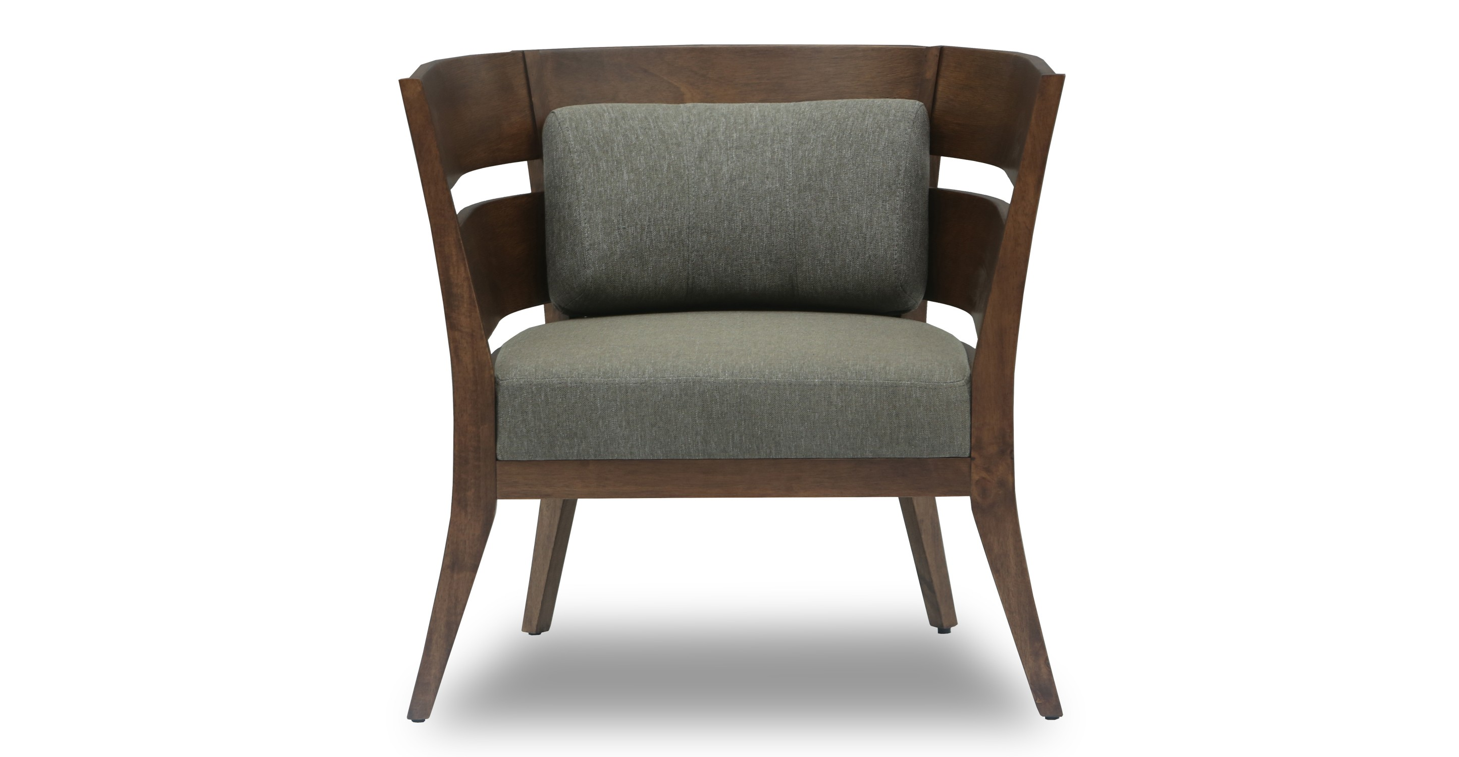 Scandinavian Chair Mier Cocoa Lounge Chair Lounge Chairs Article Modern
