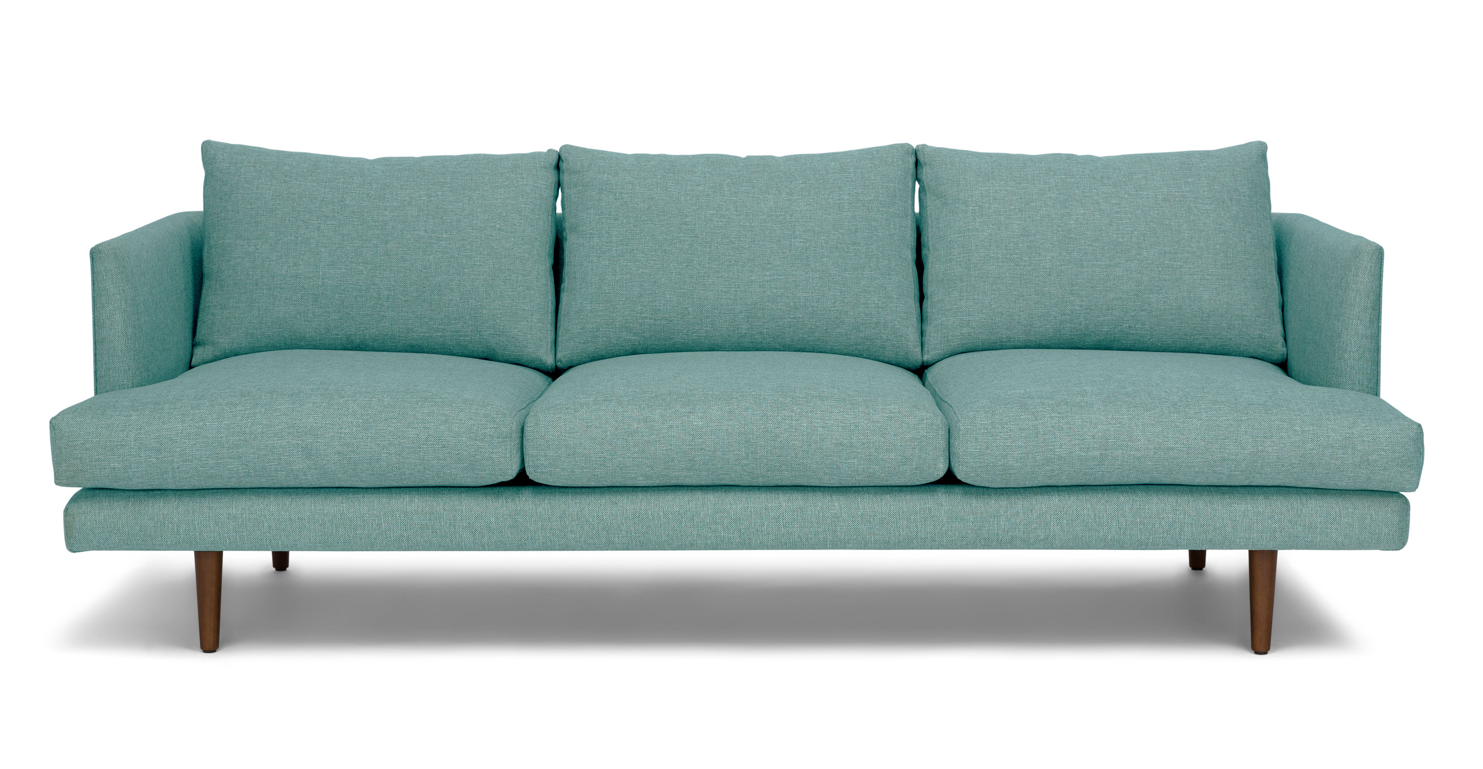 aqua sofa kivik with chaise review turquoise love the living rooms