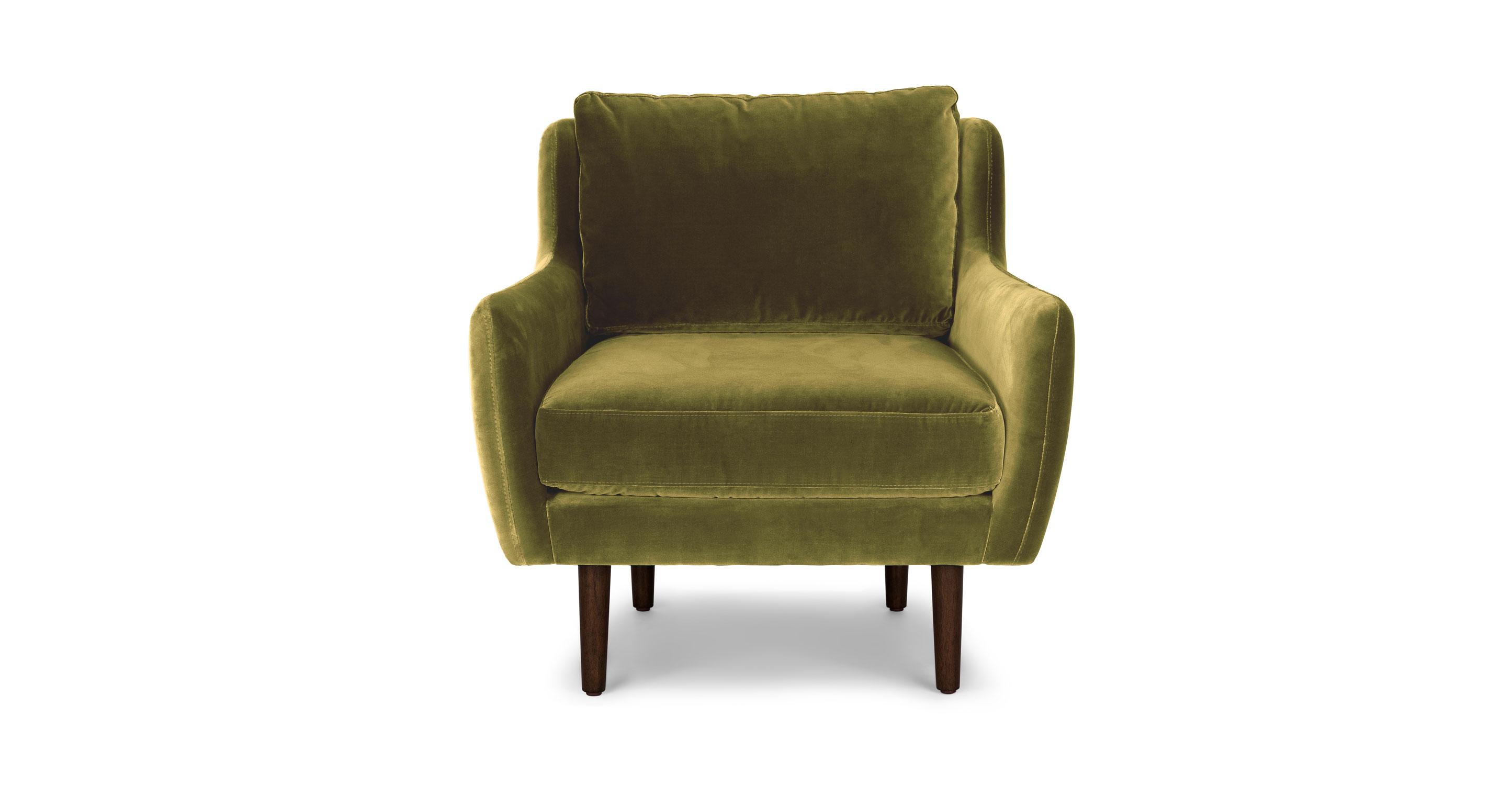 olive green velvet accent chair stressless chairs john lewis matrix article