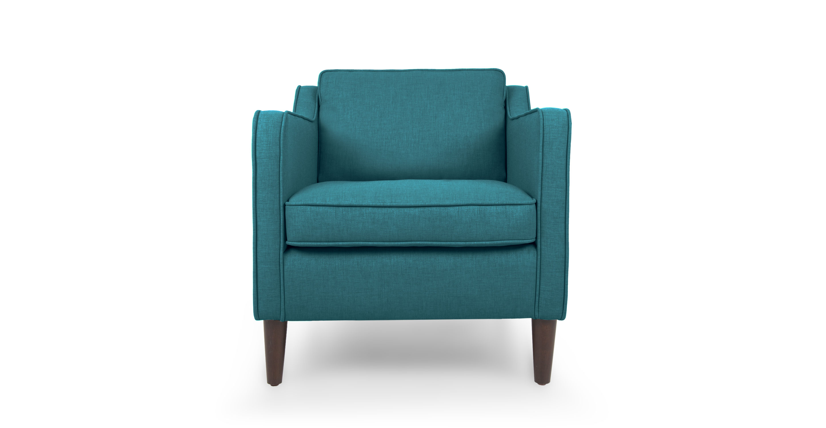 teal lounge chair lowes folding patio chairs cherie ocean armchair article