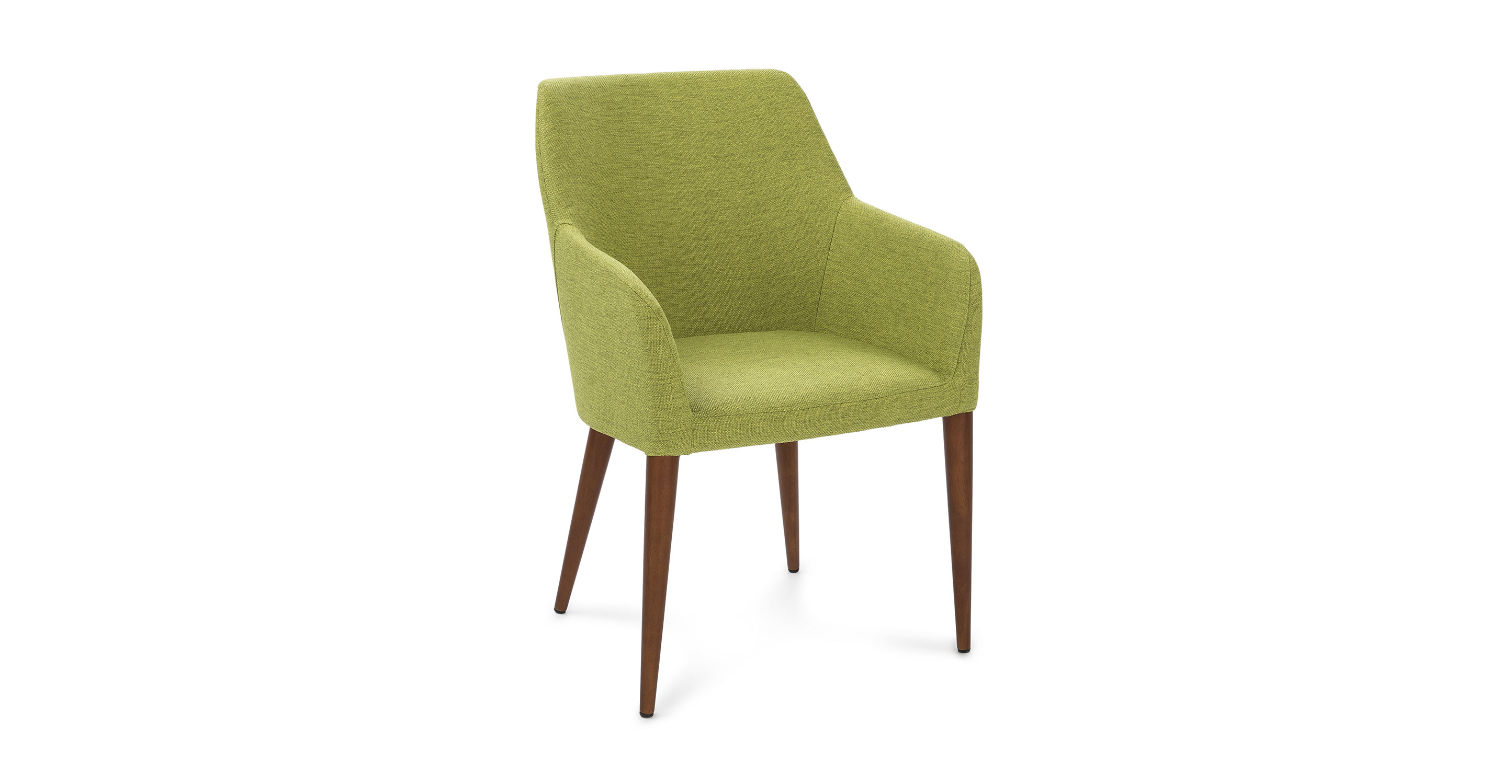 modern green dining chairs white leather club chair feast lime article