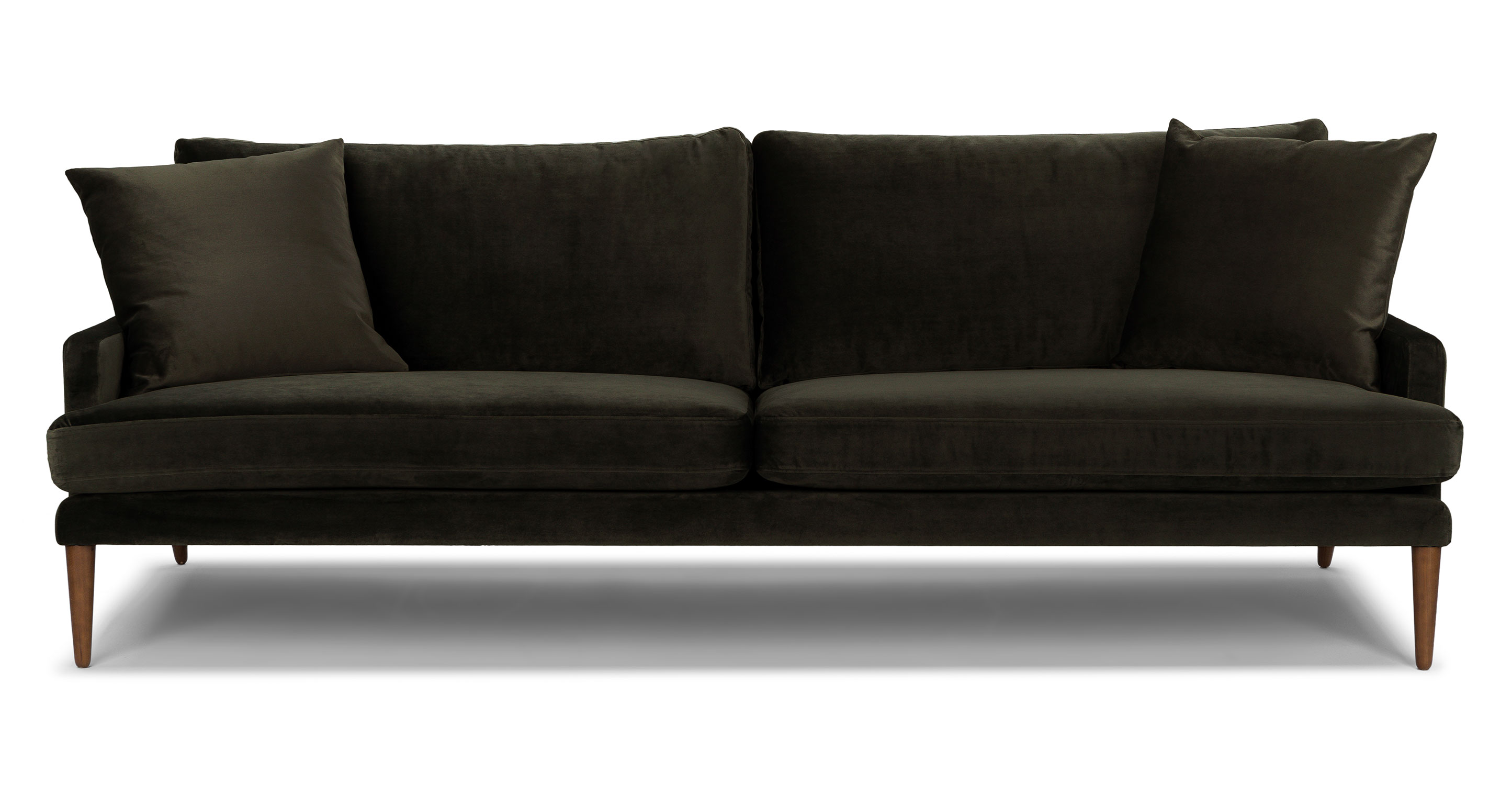 stain proof sofa fabric size of 3 seater luxu cedar green chair - lounge chairs article | modern ...