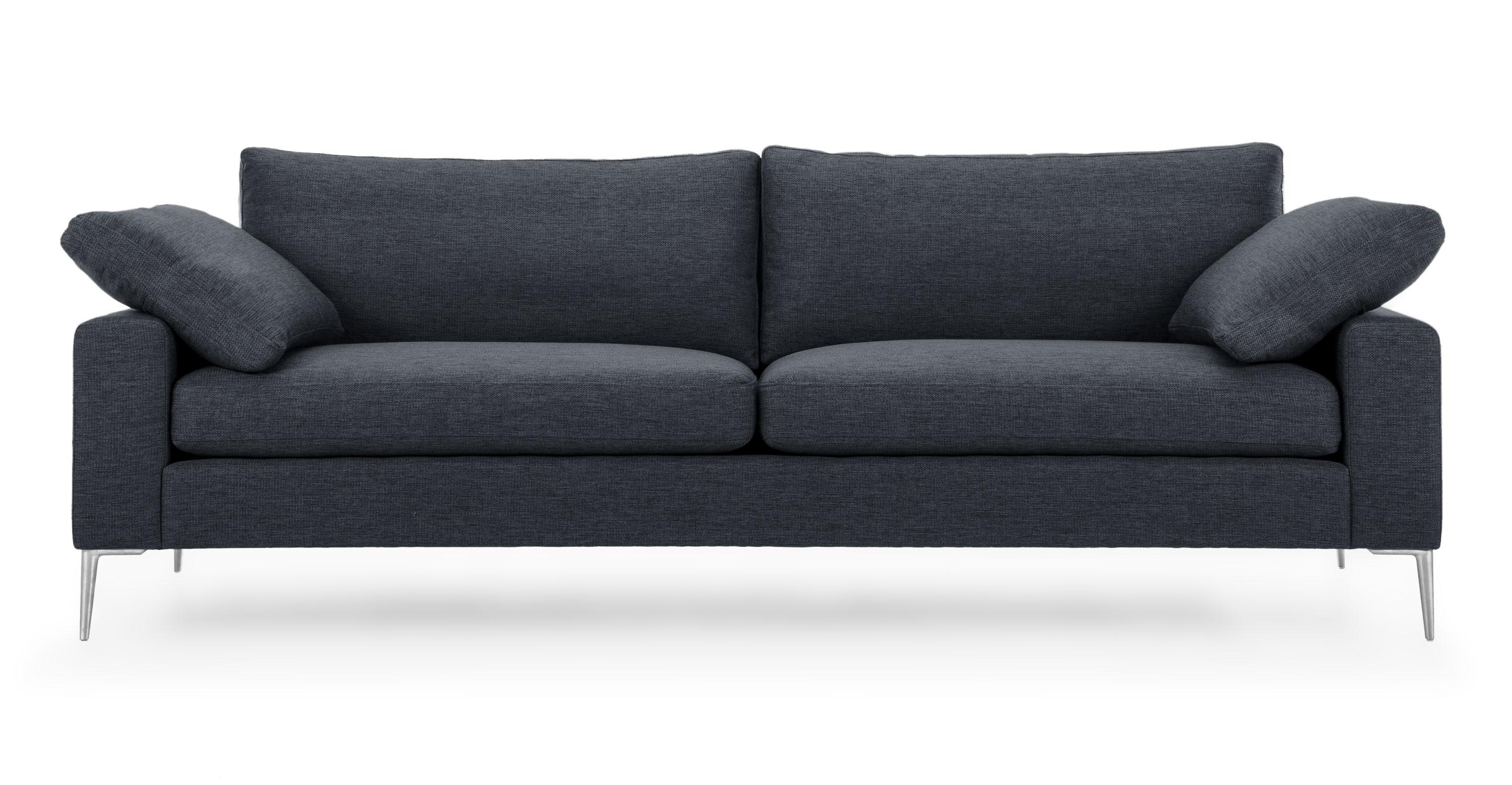 phantom contemporary grey leather sectional sofa w ottoman loose covers nova bard gray metal legs sofas article modern