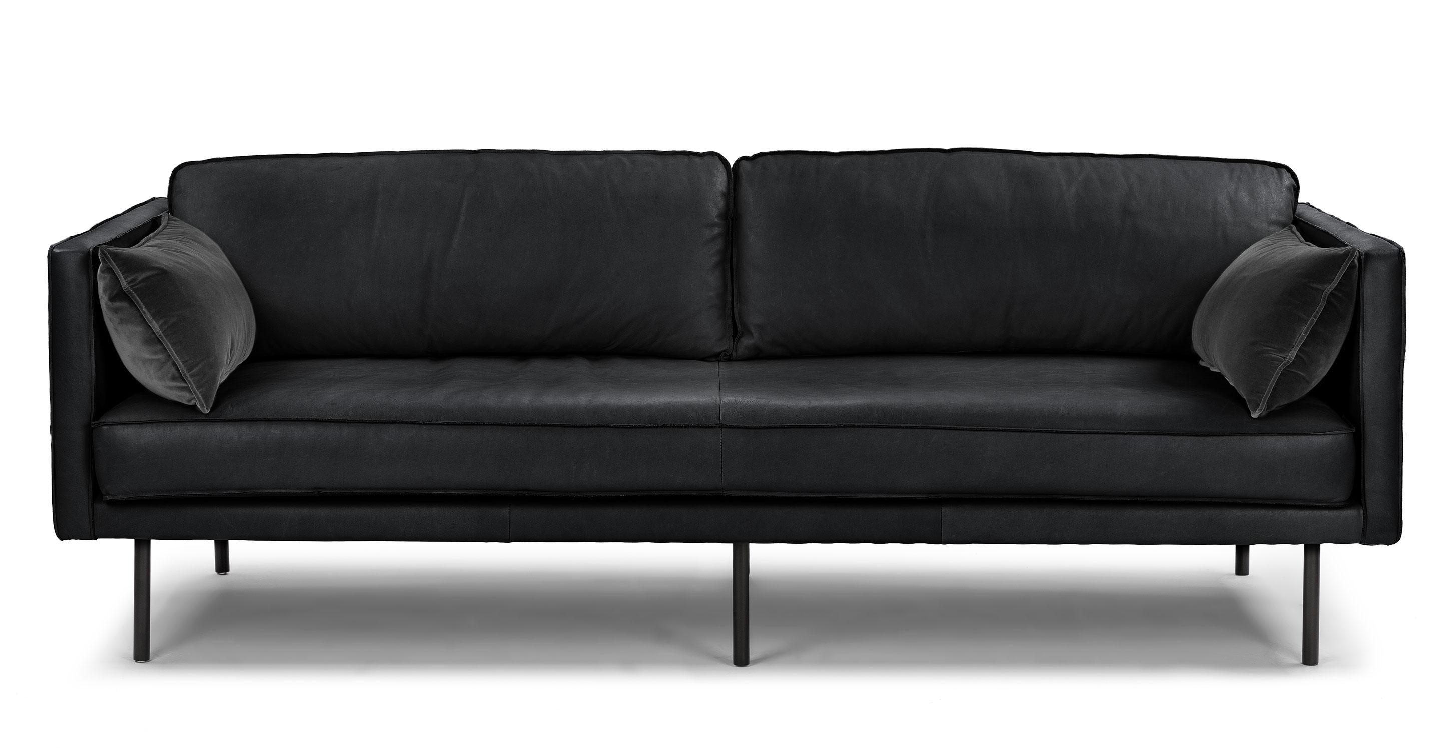down sofas canada lane sofa recliner release handle capilano charme black article modern mid