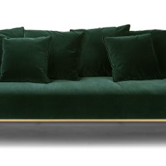 Sofa Bed Green Velvet How To Remove Ink Stain From Kits Balsam Sofas Article Modern Mid