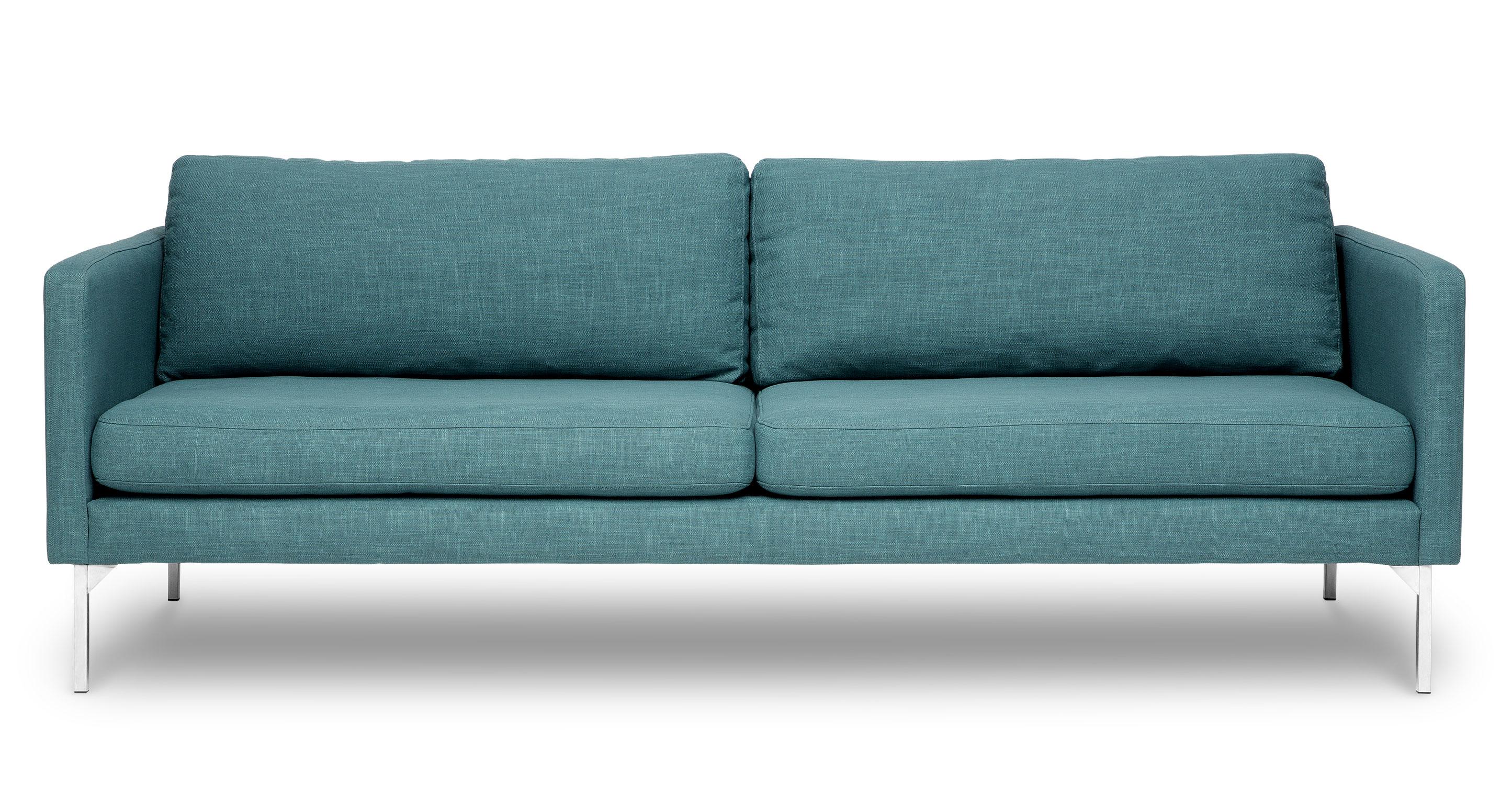 sofa article xv convertible bed pozzi echo blue spruce sofas modern mid