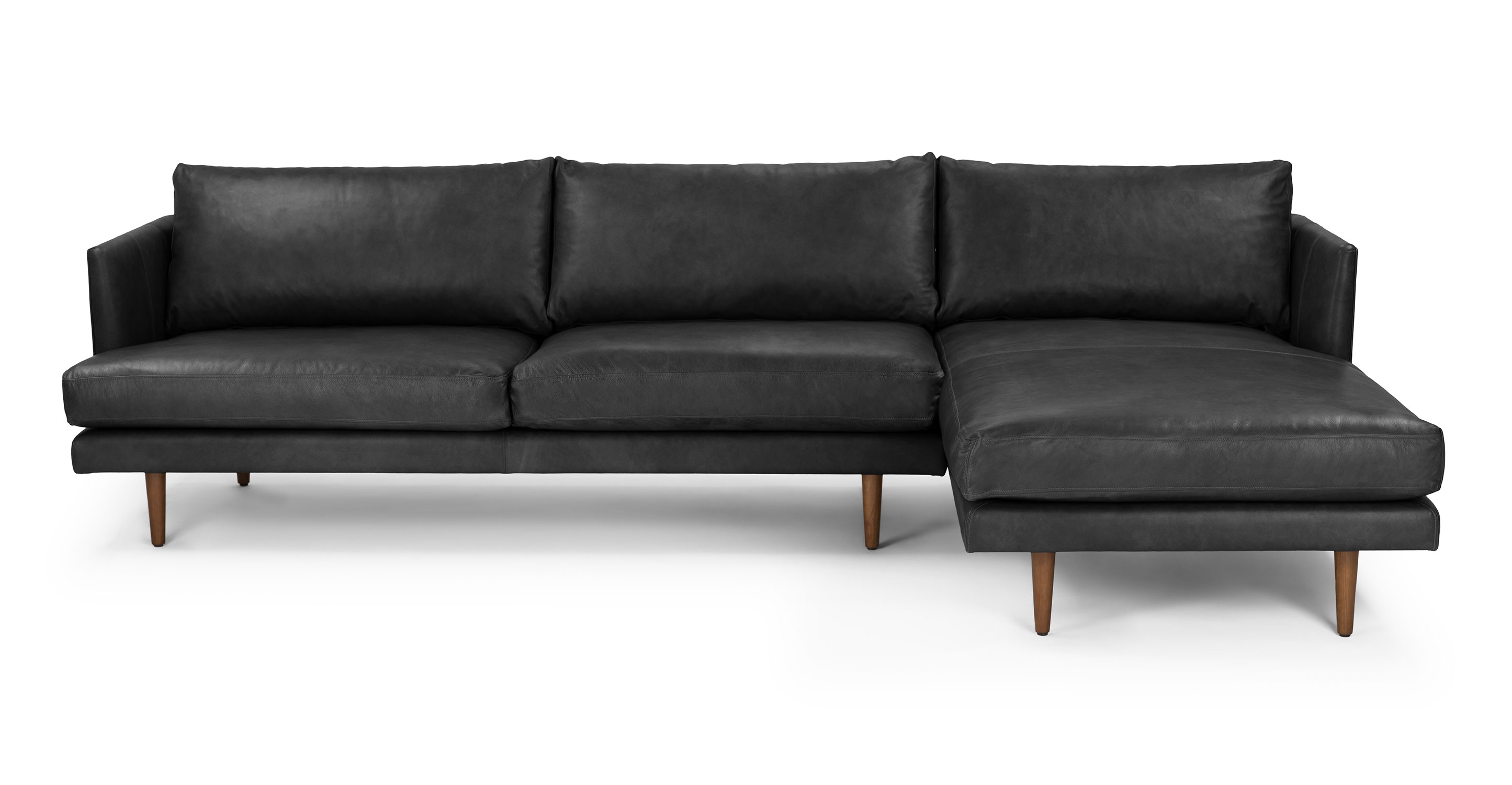 tuscan reversible leather corner sofa brown right hand facing european bed chicago burrard bella black sectional sectionals
