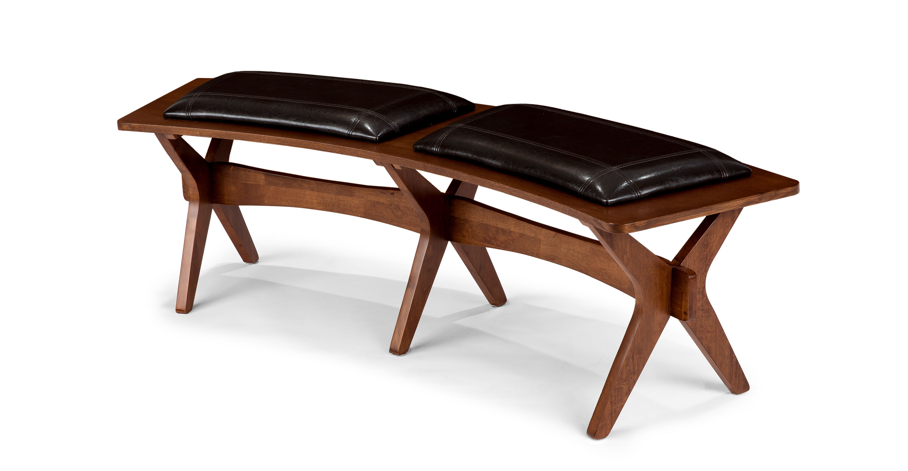 faux leather sofas canada klaussner dreamquest sleeper sofa conan dining bench - benches article   modern, mid ...