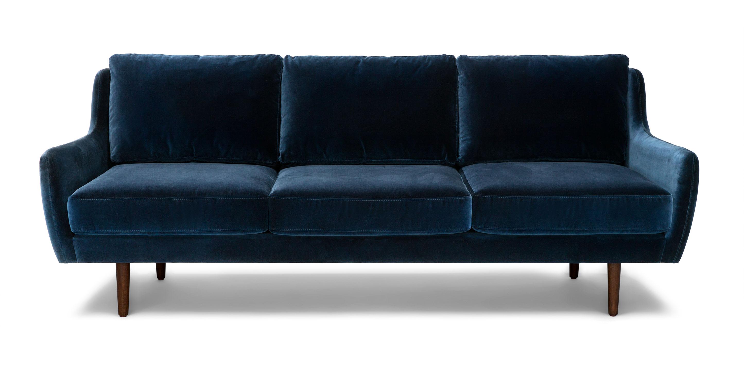 Matrix Cascadia Blue Sofa  Article