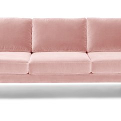 Pink Sofas Accent Pillows Leather Sofa Matrix Blush Article