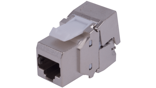 small resolution of 180 rj45 structured cabling wiring keystone insert zinc alloy metal shell