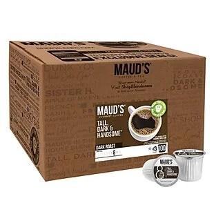100ct Maud's Coffee or Tea Pods $30