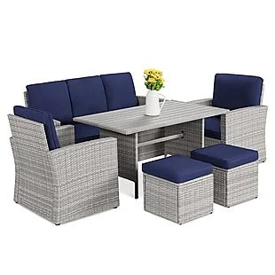 7-Seat Patio Dining Set $600 Shipped!