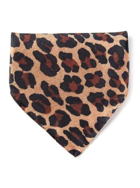 Dsquared2 leopard print pocket square