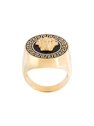 Versace Greca Medusa Ring  Farfetch